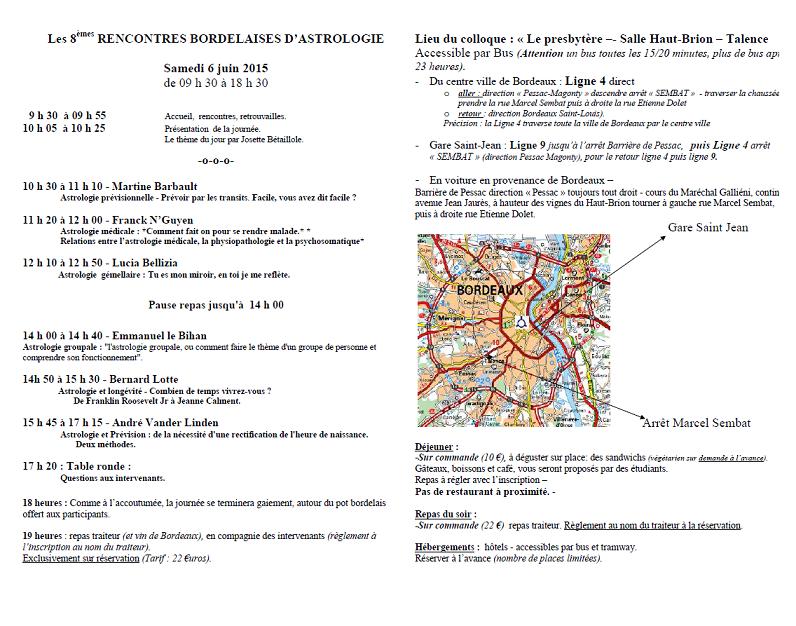 Rencontres bordelaises d ophtalmologie 2012