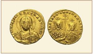 SOLIDUS-Costantino-VII-e-suo-figlio-Romano-II-300x176