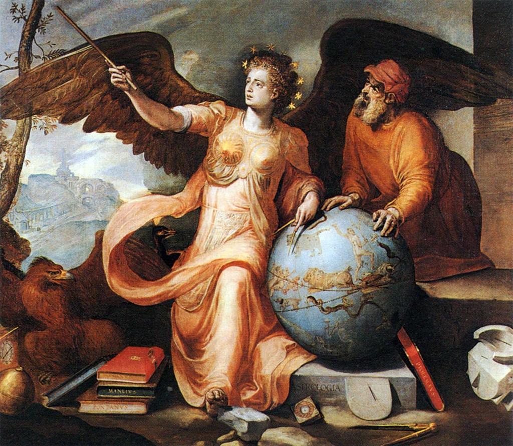 Franz Floris, Astrologia, 1557, Collezione privata